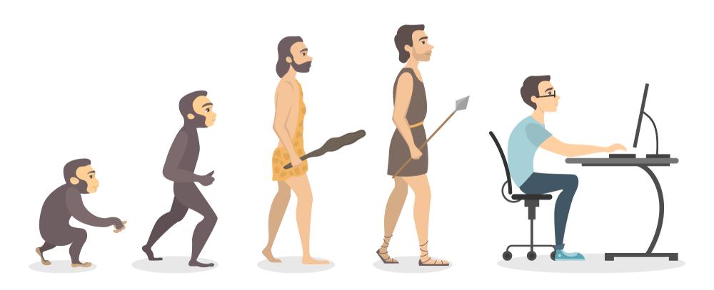 Evolución a la tecnología